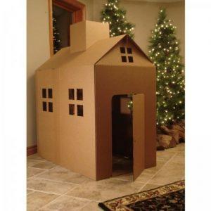 บ้านกระดาษลูกฟูกสำหรับเด็กๆ